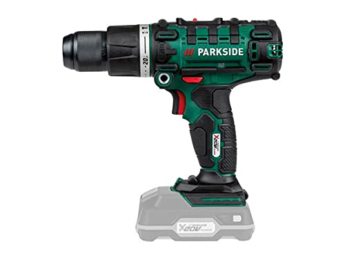 Parkside 20v 3 in 1 Cordless Hammer Drill Combi Drill Bare Unit Only (Skin) Complete with case. Max Torque 45nm 0-1650rpm