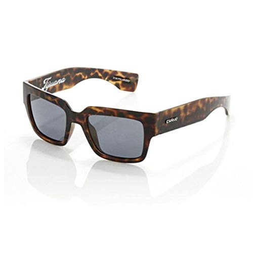 CARVE Eyewear Sunglasses Tijuana Tortoise with Polarized Grey Lens