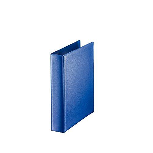 Leitz 46040035 Ringbuch Premium, A5, PP, 2 Ringe, 25 mm, blau