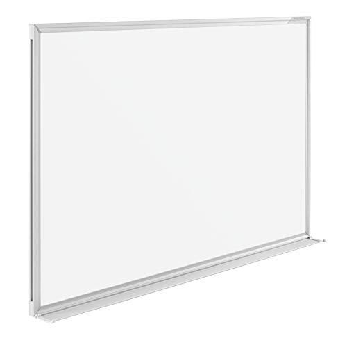 magnetoplan Whiteboard SP 120 x 90 cm, in weiteren Größen auswählbar, mit speziallackierter Oberfläche, Metallrückwand, inklusive Befestigungsmaterial - 2