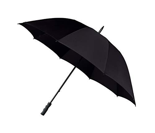 Impliva Falcone Regenschirm, 130 cm, Schwarz