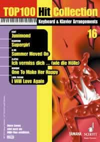 Top 100 Hit Collection 16: 6 Chart-Hits: Junimond - Supergirl - Summer Moved On - Ich vermiss dich ... (wie die Hölle) - One To Make Her Happy - I ... Ausgabe mit MIDI-Diskette. (Music Factory)