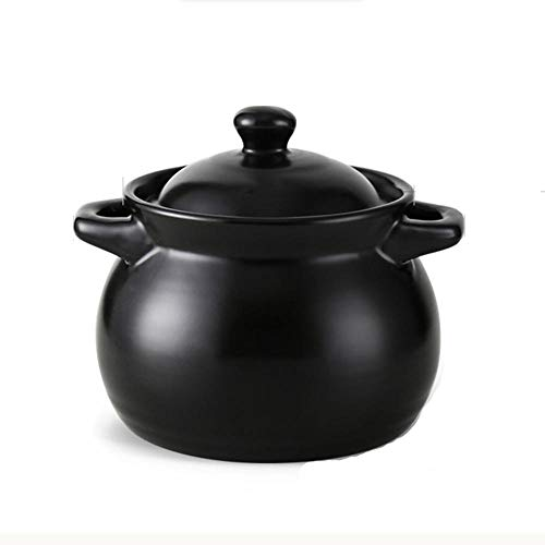 Clay Cooking Pot Ceramic Cooking Pot Clay Pot For Cooking-Fast Heat Conduction, Non-Stick Pan