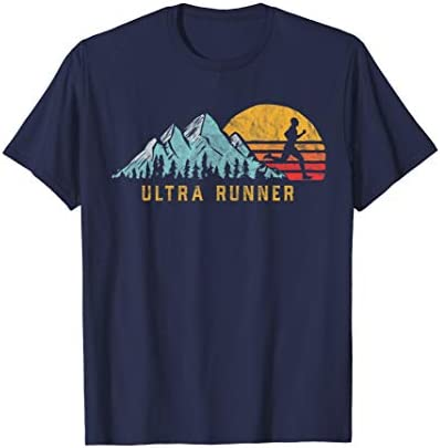 Ultra Runner Retro Style Vintage UltraMarathon T Shirt product image