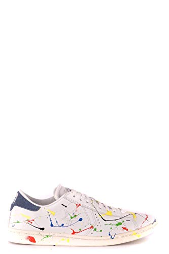 Luxury Fashion | Converse Dames MCBI35105 Wit Leer Sneakers | Seizoen Outlet