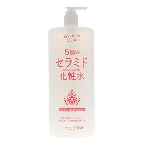 [Amazon限定ブランド] Aoyama・Labo(アオヤマラボ) セラミド化粧水 1000ml