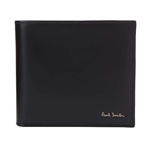 [ポールスミス] Paul Smith 財布 二つ折り 折財布 メンズ レザー m1a4833 [並行輸入品]