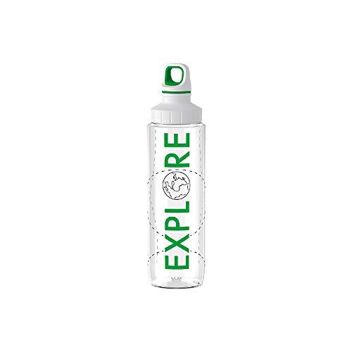 Emsa Trinkflasche Drink2Go Tritan Explore 0,7l transparent (1 Stück)