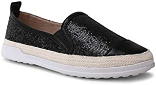 Wanted Shoes Women's Stars Glitter Fashion Espadrille...