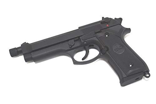 SRC M92 逆ネジアウターバレル版 ガスブローバック ガスガン ABS樹脂フレーム ブラック SR92 SP