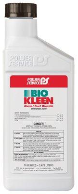 Power Service 09016-09 Bio Kleen Diesel Fuel Biocide - 16 oz.