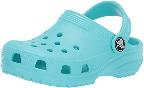 crocs Unisex-Kinder Classic Kids Clogs, Blau (Pool 40m), 32/33 EU