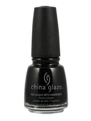 China Glaze Esmalte de uñas con endurecedores - Efecto lacado - Cuero Líquido, 1er Pack (1 x 14 ml)