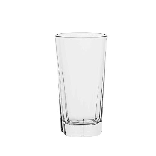 AmazonCommercial Longdrinkgläser, Barzubehör, Trinkglas, 340 ml, 8-teiliges Set