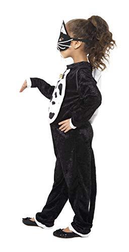 SMIFFYS Costume Gatto, comprende Body, Campana e Maschera