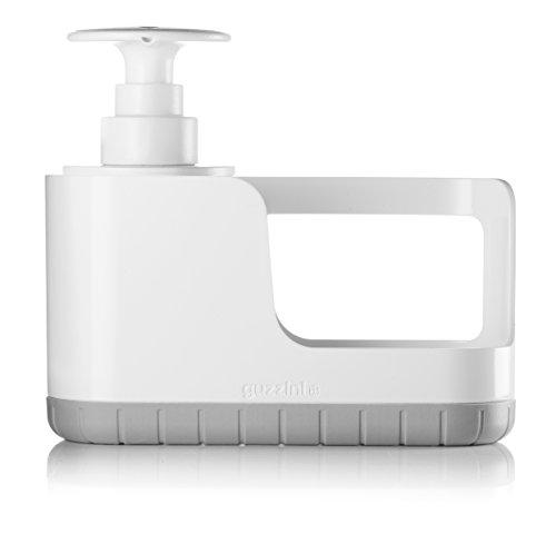 Guzzini Organizzatore Tidy&Clean e Push&Soap Kitchen Active Design, Grigio, 24.2 x 8.3 x h19 cm