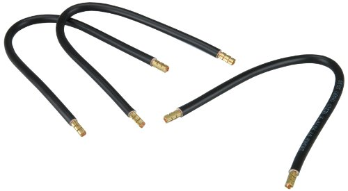 UNITEC 40192 Kabelbrücke mit Aderendhülse, 265 mm, 10 mm², 3 Stück, schwarz