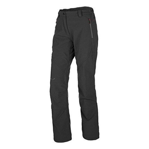 Salewa Puez (Dolomia) PL Pnt, Pantalone da Escursione Uomo, Nero (Black Out/0730), 52/XL