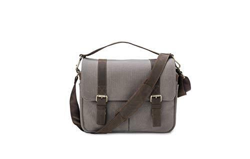 Messenger Bag Camera Laptop // Premium Grade Leather Waxed Canvas DSLR Professional Mirrorless Setups - // The Mariner Portage Supply Co.