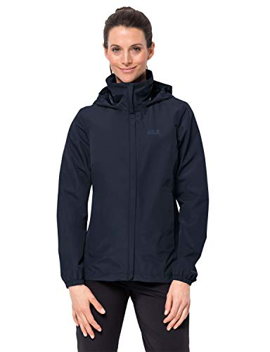 Jack Wolfskin Damen STORMY POINT JACKET W Wetterschutzjacke, midnight blue, L