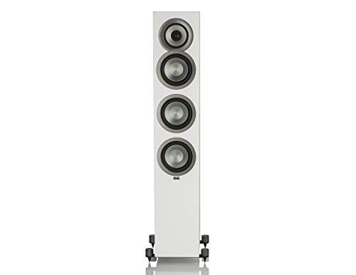 Elac Uni-FI FS U5 Slim Blanco Altavoz - Altavoces (De 3 vías, 42-25000 Hz, 4 Ω, Blanco)