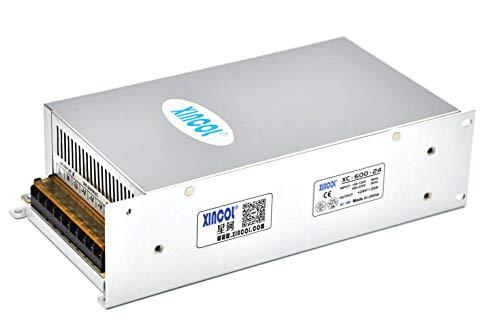 XINCOL Convertidor de CA a CC AC110V/220V a DC24V 25A 600W Fuente...