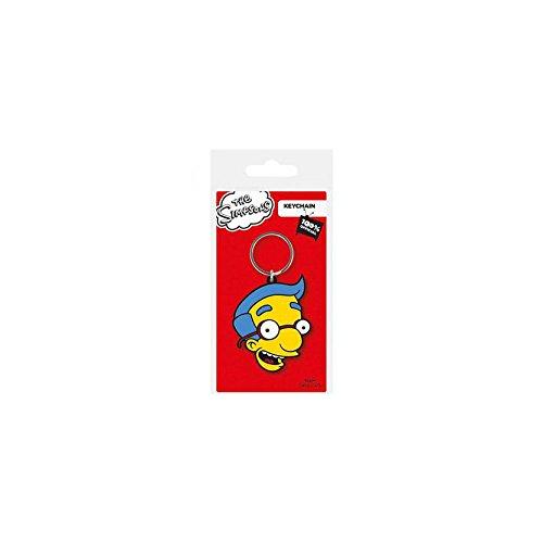 Porte-clés Caoutchouc Milhouse Simpsons Pause Canap