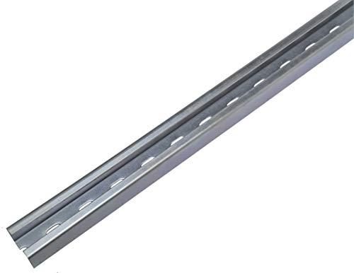5 Stück 2-m-C-Profile (10 m) / Installationsschienen/Montageschienen Profil 27x18 mm