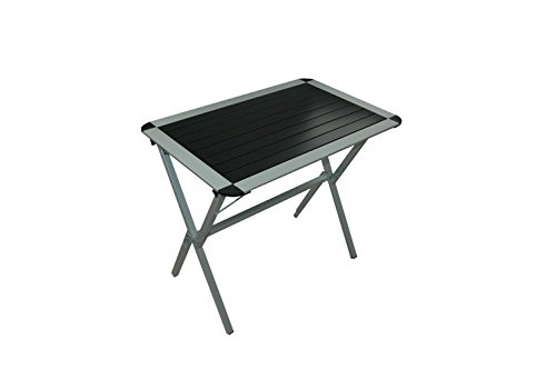 Prowake Alu Rolltisch aus Vierkant Alurohr, Campingtisch, Alu Klapptisch