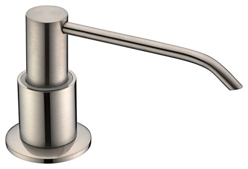 Kitchen Sink Soap Dispenser Brushed Nickel ,Soap Dispenser,Dish Soap dispenser for Kitchen...