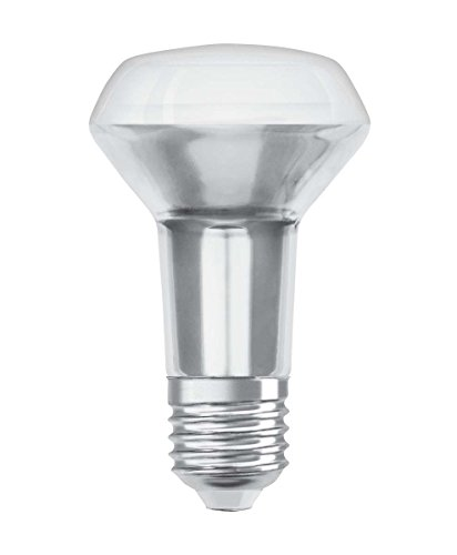 Osram LED Star R63 Reflektorlampe, Sockel: E27, Warm White, 2700 K, 4, 30 W, Ersatz für 60-W, 2er-Pack