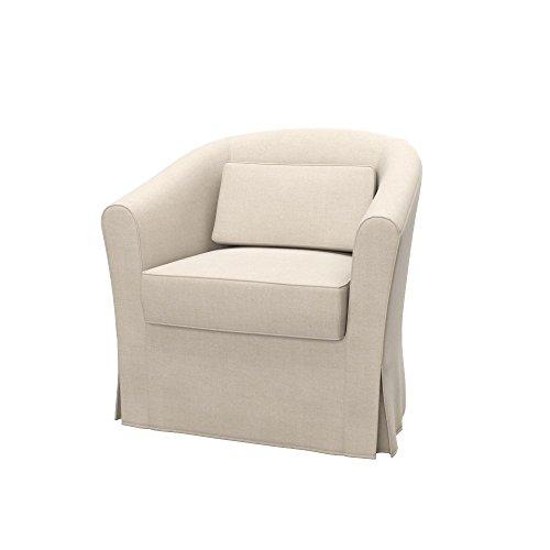 Soferia - IKEA EKTORP TULLSTA Funda para sillón, Elegance Creme