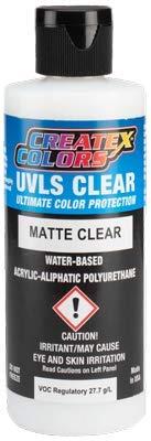 Createx UVLS mate transparente (960 ml) 32 oz