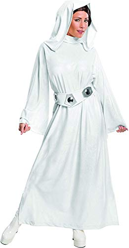 Rubie's Women's Star Wars Classic Deluxe Princess Leia Costume,White,X-Small