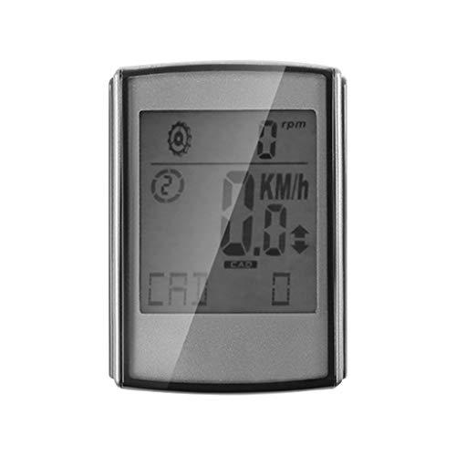 Diubcucy BC335 - Monitor de ritmo cardíaco multifunción con Bluetooth para yoga, fitness, ciclismo, camping, senderismo, interior y exterior