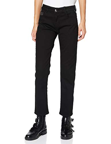REPLAY FAABY Jeans, Negro (098 Black), 28 W / 30 L para Mujer