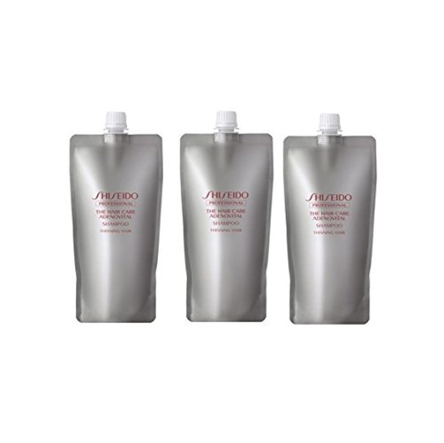 解明する洗剤破壊的な【x3個セット】 資生堂プロフェッショナル アデノバイタル シャンプー 450ml 詰め替え 美容室