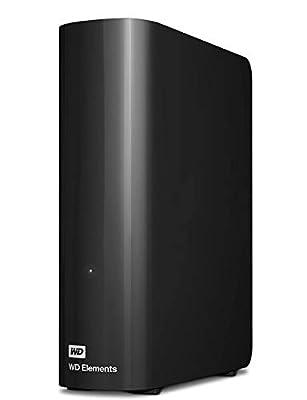 WD 4 TB Elements Desktop External Hard Drive - USB 3.0, Black