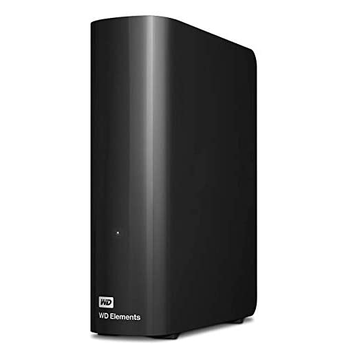 WD 3TB Elements Desktop, Hard Disk Esterno, USB 3.0
