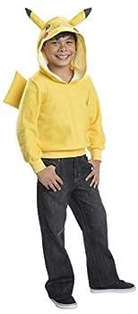 Rubie s Costume Pokemon Pikachu Child Novelty Hoodie Costume Small