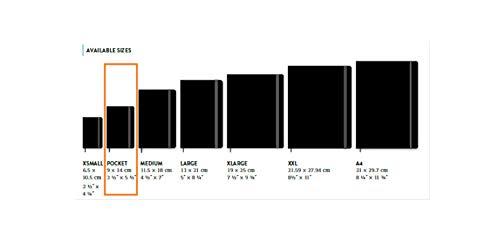 """Moleskine - Agenda Semanal de 18 meses 2020/2021, """"Alicia en el país de las maravillas"""" Edición Limitada, Diseño el Conejo Blanco, Tamaño de Bolsillo 9 x 14 cm, 208 Páginas"""