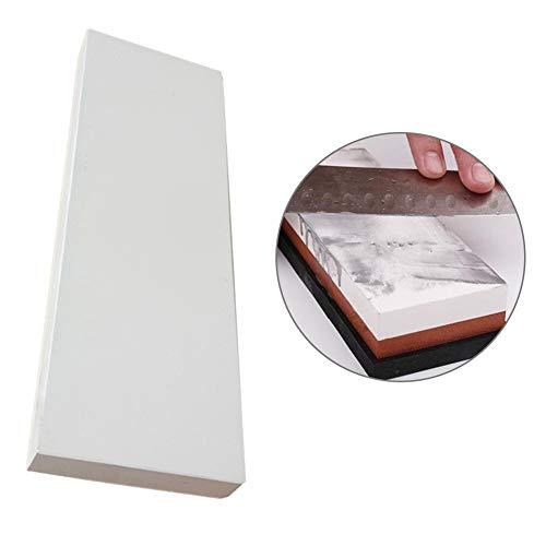 HshDUti 4000 Körnung Weiß Messerschärfer Korund Schleifstein Schleifstein Home Kitchen Tool White