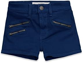 Abercrombie and Fitch Womens Super High Rise Shorts Blue Size 8