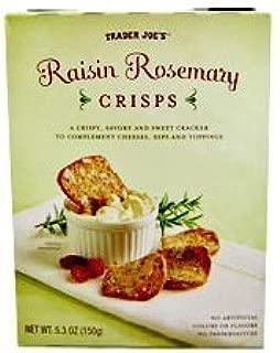 Trader Joe's Raisin Rosemary Crisps by Trader Joe's [Foods]