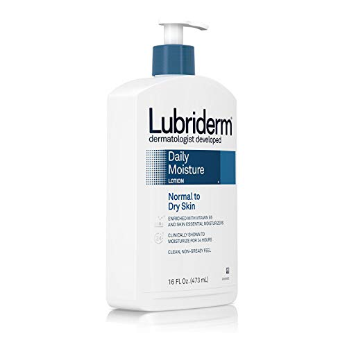 Lubriderm Daily Moisture Lotion Normal To Dry Skin Non Greasy 16 Ounce by Lubriderm