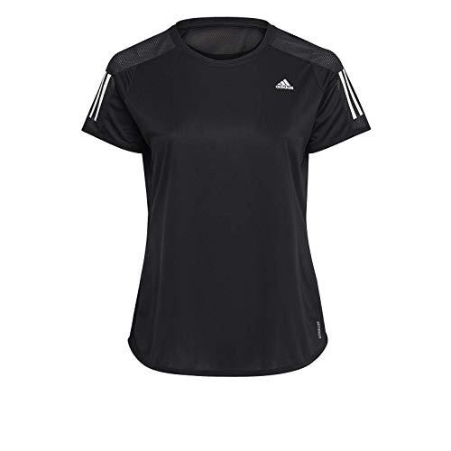 adidas Own The Run Tee, T-Shirt Donna, Black, XS