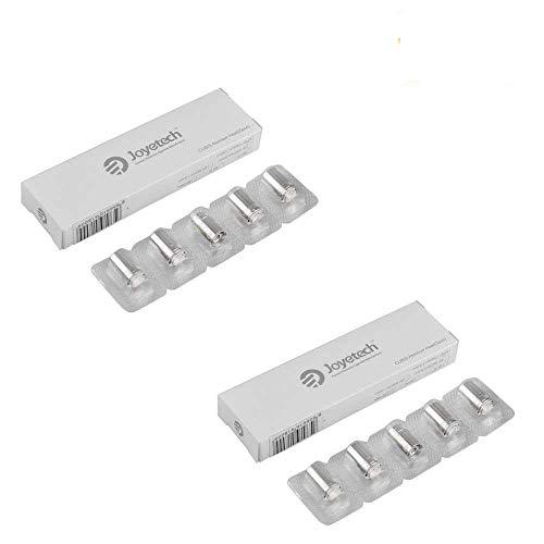 Resistenza Joyetech CUBIS BF SS316 0,6ohm (2 pacchetti di valore) Resistenza per Tutti i carri armati di Cubis, Ego AIO sigaretta elettroniche Senza Nicotina con PEACEVAPE Vape Band