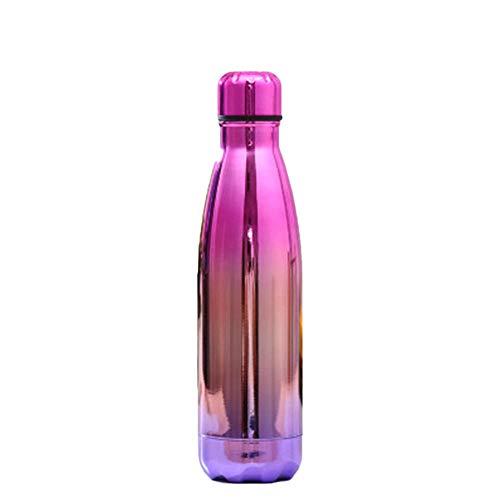 Ssskl Botella de Agua de Acero Inoxidable de 500 ml de Acero Inoxidable Deportes de vacío Botella de Agua fría/Taza de Viaje de la Taza de la taza-500ml_D