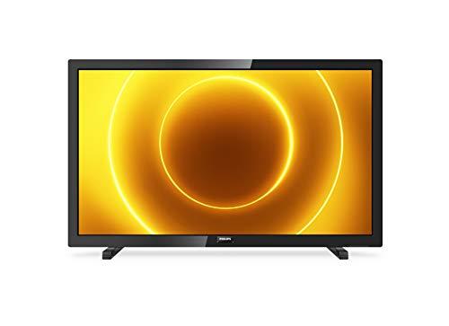 Philips 24PFS5505/12 24-Zoll-LED-Fernseher (Full HD, Pixel Plus HD, Full-Range-Lautsprecher, 2 x HDMI, VGA, USB) Schwarz Glänzend [Modelljahr 2020]