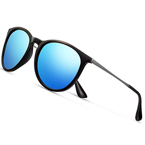 Sunglasses for Women Men Polarized uv Protection Wearpro Fashion Vintage Round Classic Retro Aviator Mirrored Sun glasses